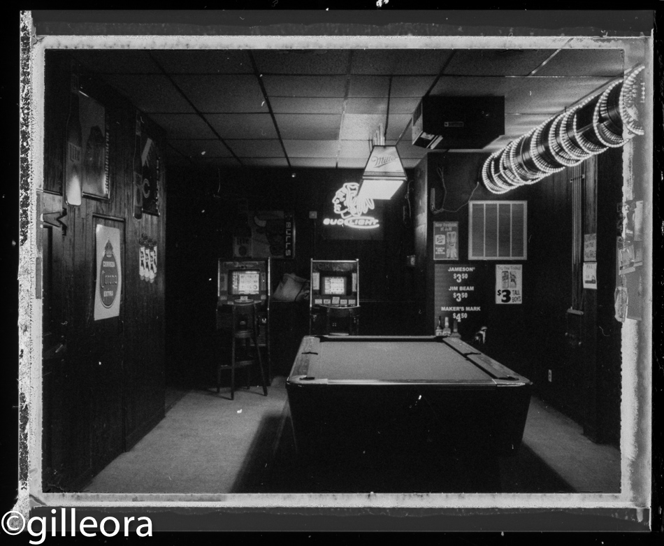 That pool table looks lonely