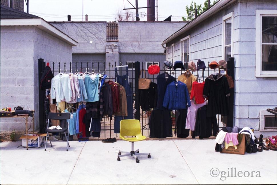 Summer garage sale.